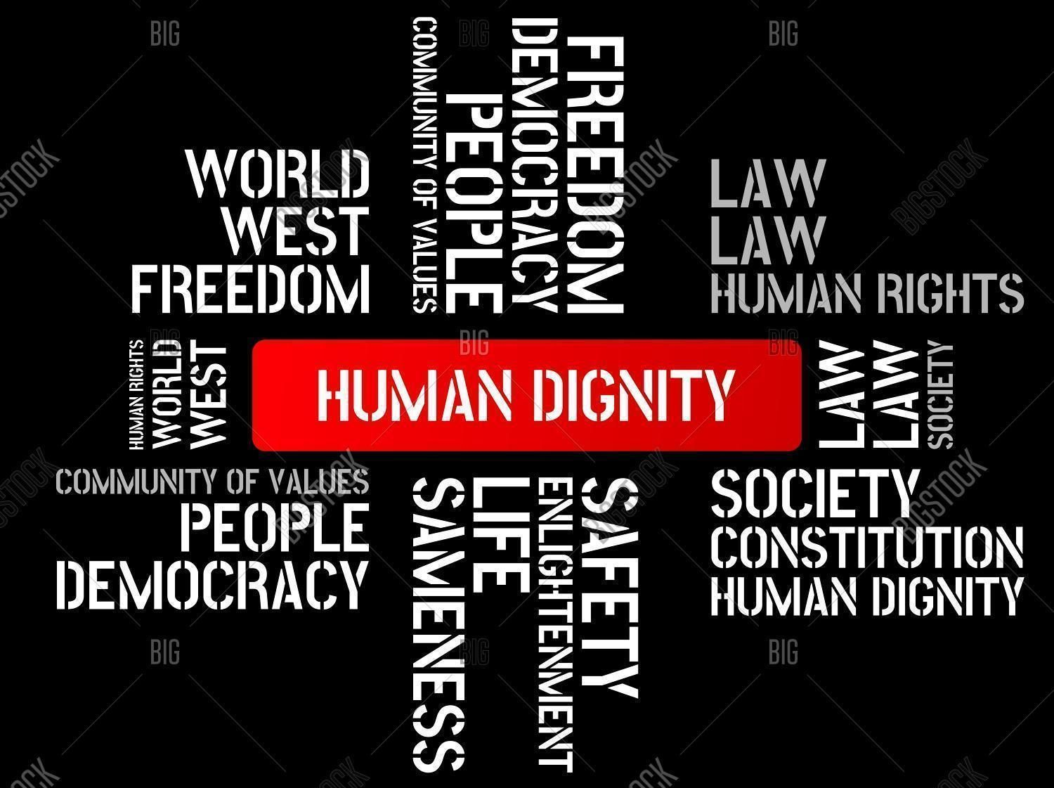 Human Dignity: Be Mindful of Humans