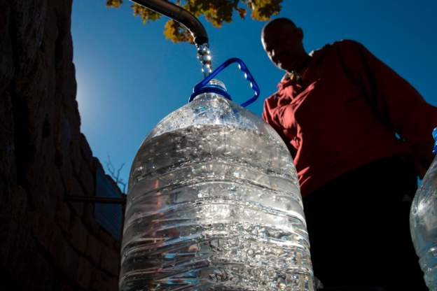 Don't panic' over water crisis, South Africans told