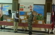 Indian army hands over medical equipment to Nepali army