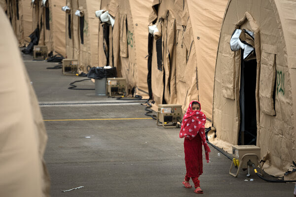 Afghan refugees in limbo