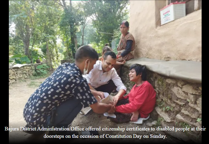 Disabled people acquire citizenship