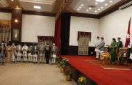 President Bhandari Administers Oath Of Office To Newly Appointed Ministers