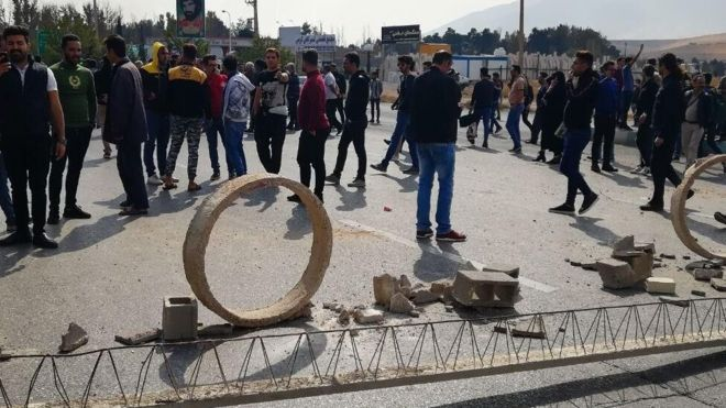 Iran petrol price hike: Protests erupt over surprise rationing