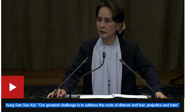 Myanmar Rohingya: Suu Kyi rejects genocide claims at UN court