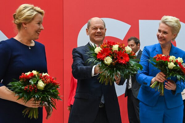 Olaf Scholz is poised to be Germany's next leader