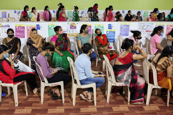 India reports a sharp drop in Covid deaths