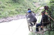 People Still Using Tuin Cable To Cross Mighty Karnali