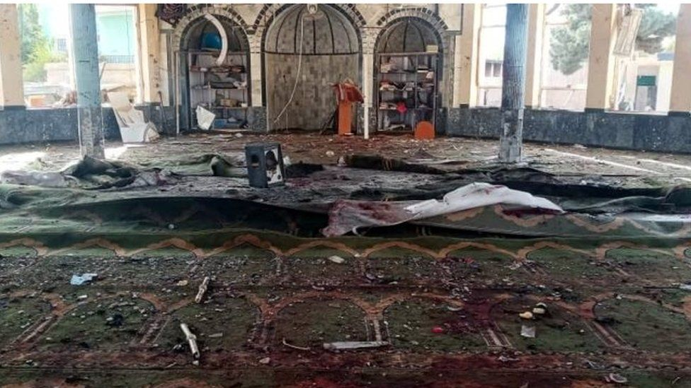 Deadly attack hits Kunduz mosque during Friday prayers
