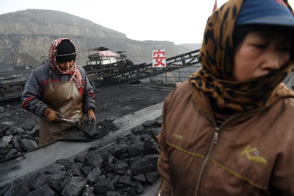 A rush for coal in China as power shortages spread