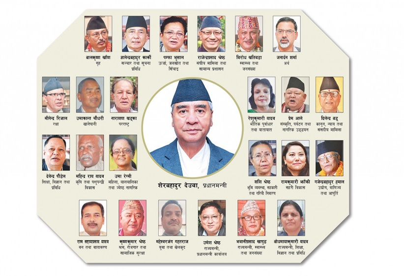 With only one Dalit member in his Cabinet, Deuba flouts constitutional provision of inclusiveness